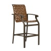 Athens Cross Weave Bar Chair
