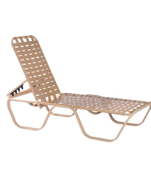 Horizon Cross Weave Chaise Lounge