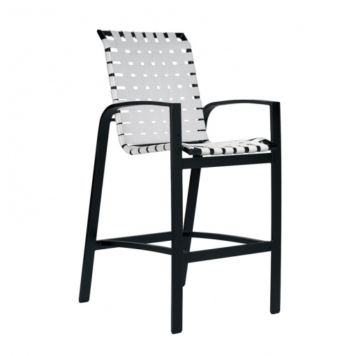 Skyline Cross Weave Bar Chair