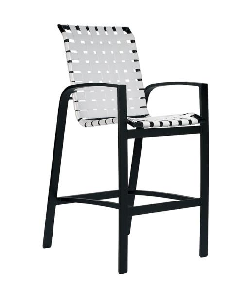 Skyline Cross Weave Bar Chair