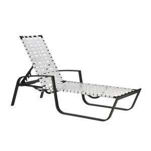 Skyline Cross Weave Chaise Lounge