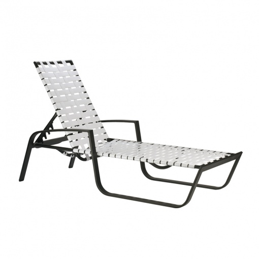 Skyline Cross Weave Chaise Lounge