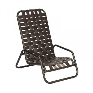 Sundance Cross Weave High Back Sand Chair