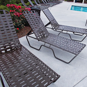 Sundance Cross Weave Lounge Chairs