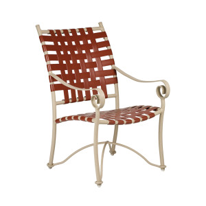 Tuscan Villa Cross Weave Dining Chair