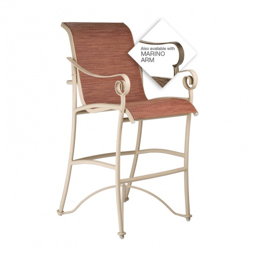 Tuscan Villa Sling Bar Chair