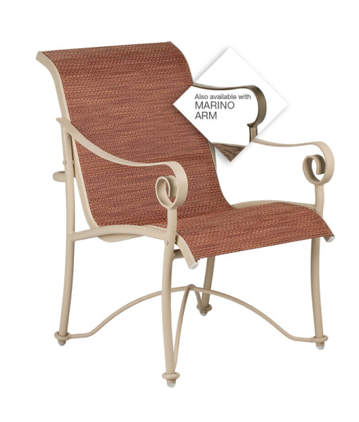 Tuscan Villa Sling Dining Chair