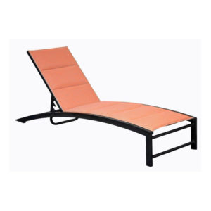 Urban Loft Chaise Lounge with Padded Option - 3928SP