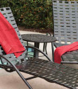 Velocity Cross Weave Chaise Lounge