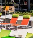 Urban Loft Sling Chaise Lounge
