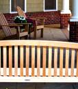 Adirondack Chairs and Premium Wood Bench
