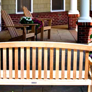 Adirondack Chairs and Premium Wood Bench