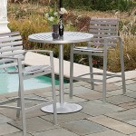 Skyline Slat Bar Chairs