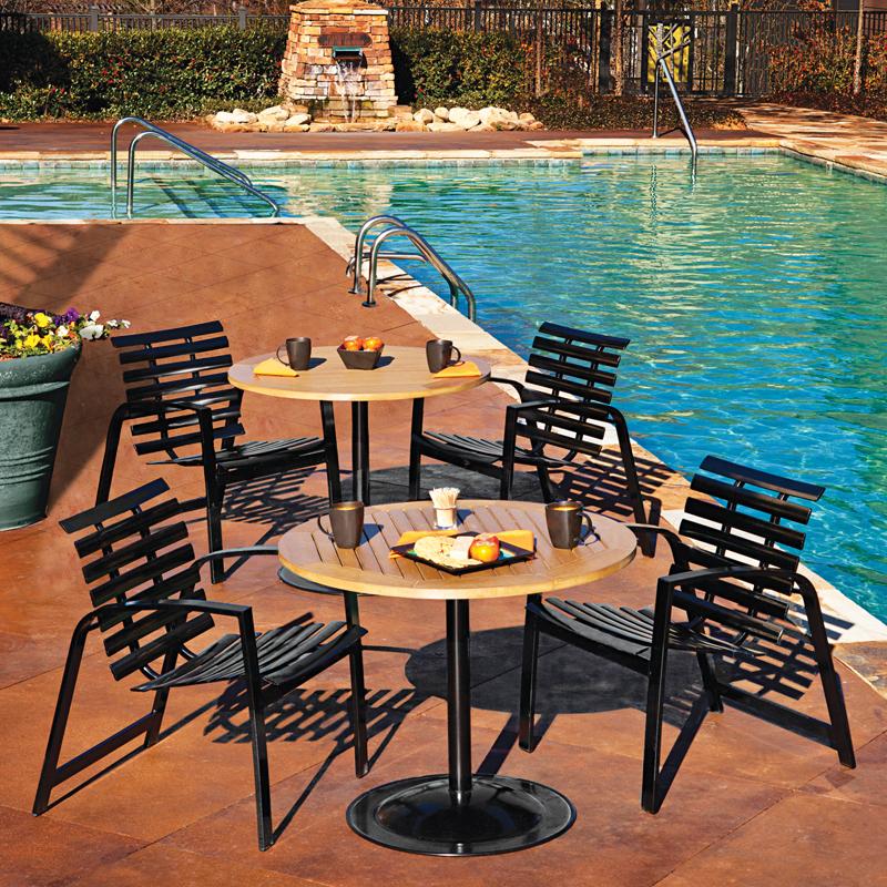 Skyline Slat Dining Chairs