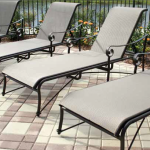 Tuscan Villa Sling Chaise Lounges