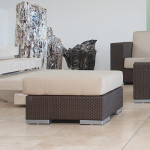 Wicker Collection Ottoman