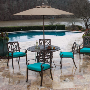 Buena Vista Deep Seating Dining Set