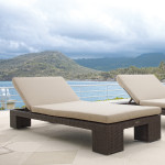 Cuatro Wicker Chaise Lounges