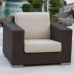 Cuatro Wicker Lounge Chair