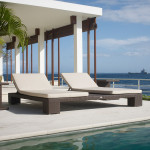Cuatro Wicker Double Chaise Lounger
