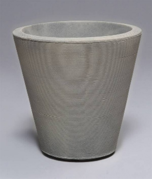Madison Planter Weathered Gray Stone