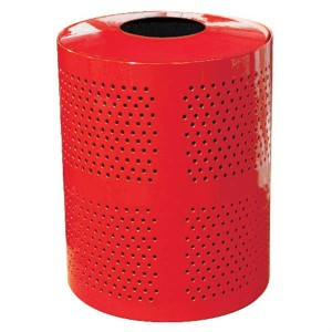 32-Gallon Perforated Receptacle
