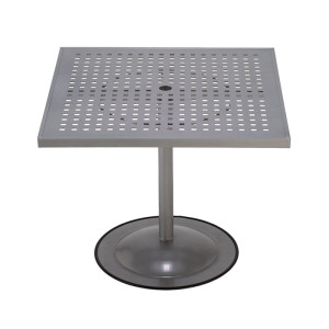 Premium Table Top Cubed Pattern with Bistro Pub Base