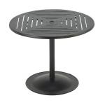 Premium Table Top Slat Pattern with Bistro Pub Base