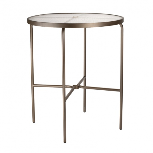 Round Acrylic Bar Table