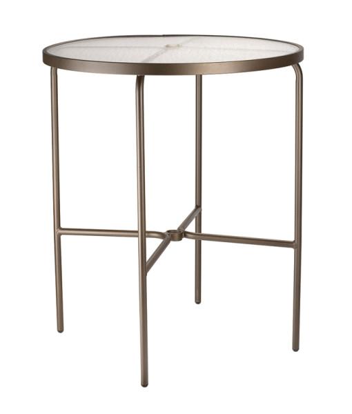 Round Acrylic Bar Table