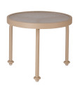 Round Acrylic Side Table