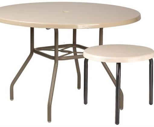 Round Fiberglasss Tables