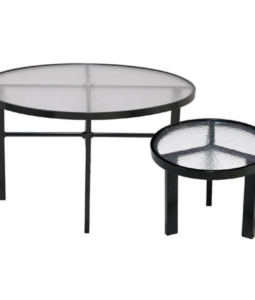 Round Urban Acrylic Tables