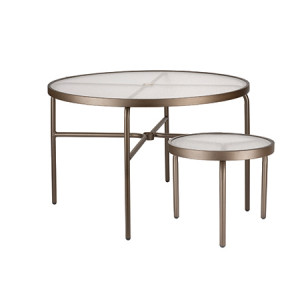 Round Acrylic Table