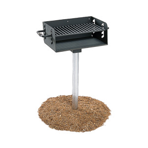 In Ground Post Mount Grill