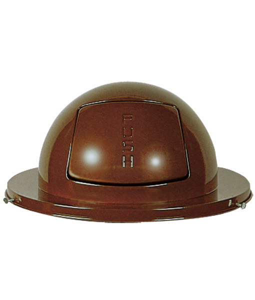 Receptacle Lids Brown
