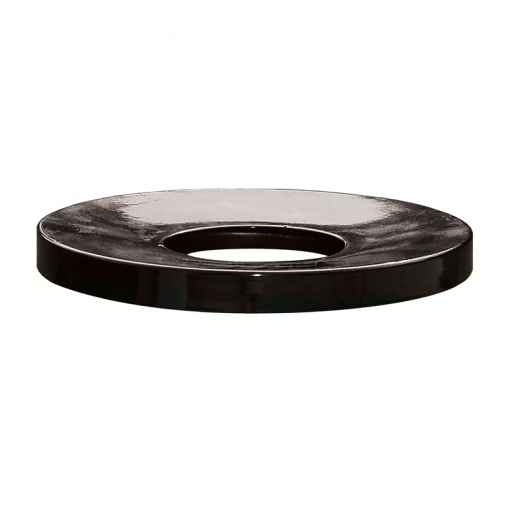 Receptacle Lids Flat Black