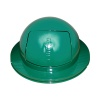 Receptacle Lids Green Covered