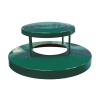 Receptacle Lids Green