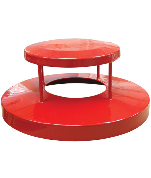 Receptacle Lids Red