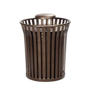 Steel Architectural Waste Receptacle 2