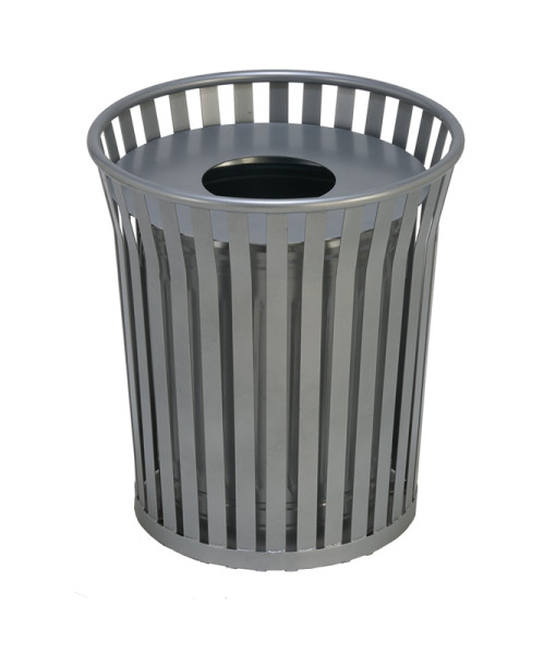 Steel Architectural Waste Receptacle