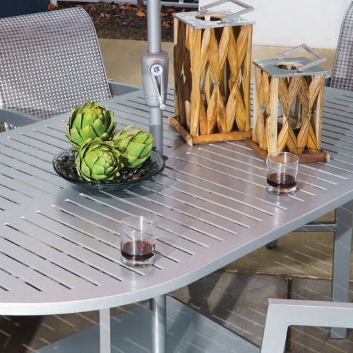 Premium Table Top Slat Oval