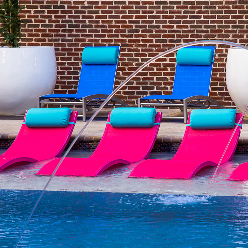 pool chairs chaise blue outdoor chair beautiful lounge in