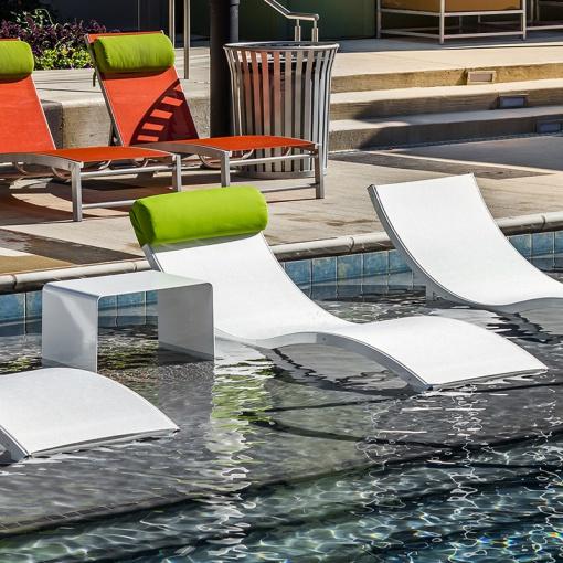 Aqua Lounge Neck Pillow