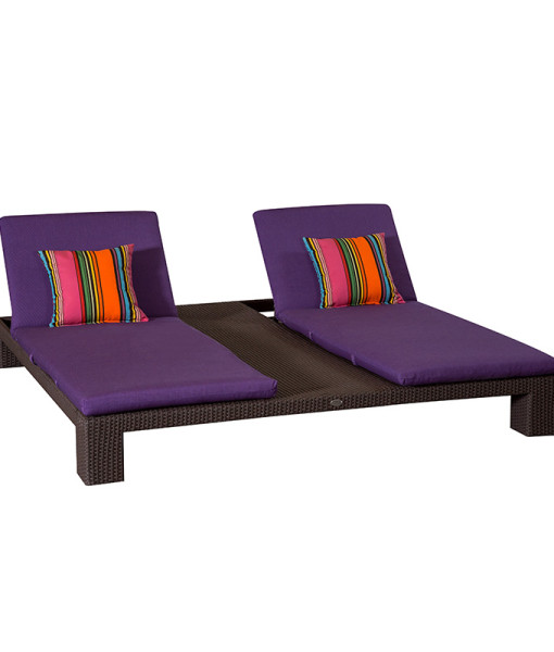 Ciró Wicker Chaise Lounge