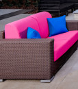 Ciro Wicker Patio Lounge Furniture