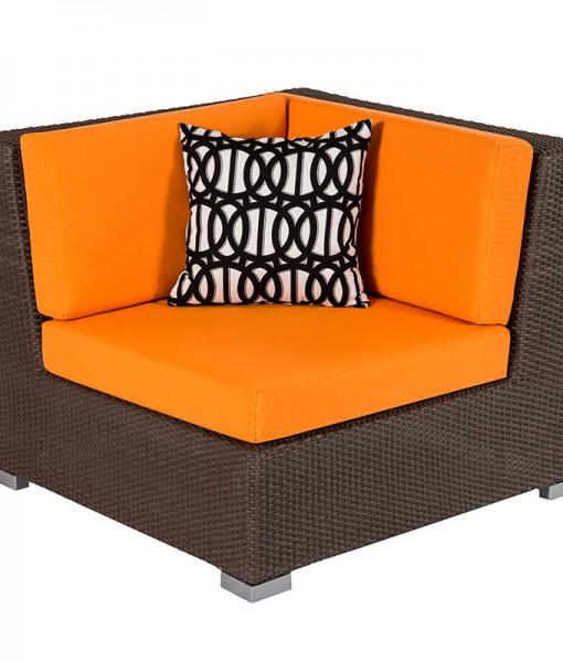 Ciró Wicker Corner Seat