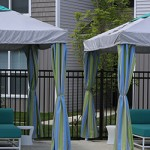 Cabanas and Umbrellas