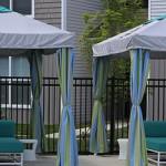 Cabanas and Umbrellas